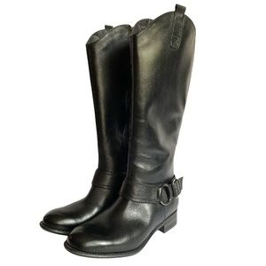 Blondo Black leather boots 8.5